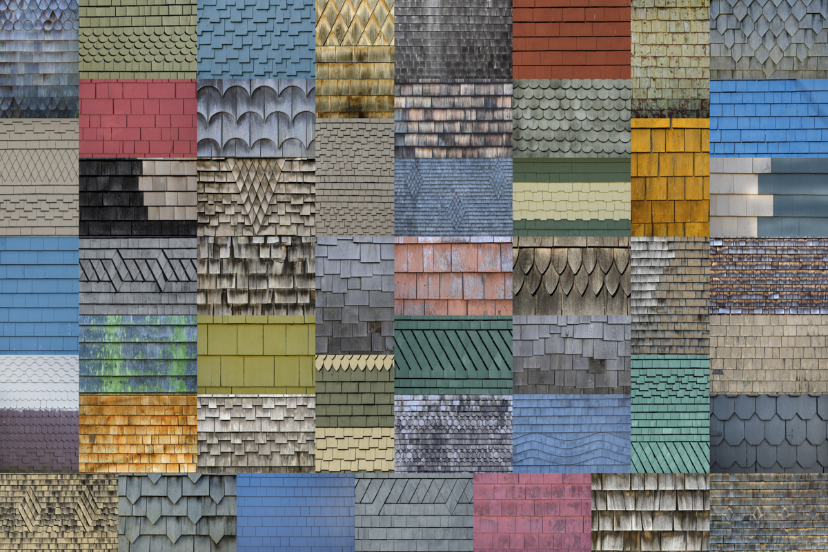 Wooden Shingles - Provincetown